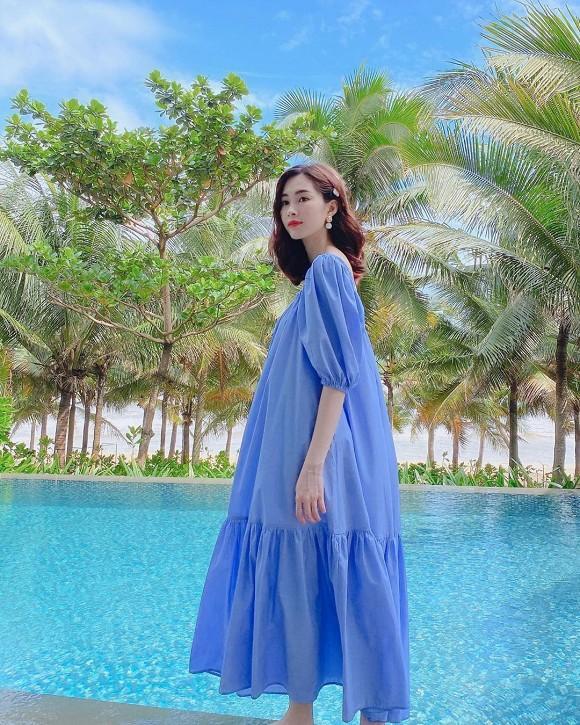 Con gái đầu tròn 2 tuổi, Hoa hậu Việt Nam 2012 Đặng Thu Thảo ẩn ý đang mang bầu lần nữa?-3