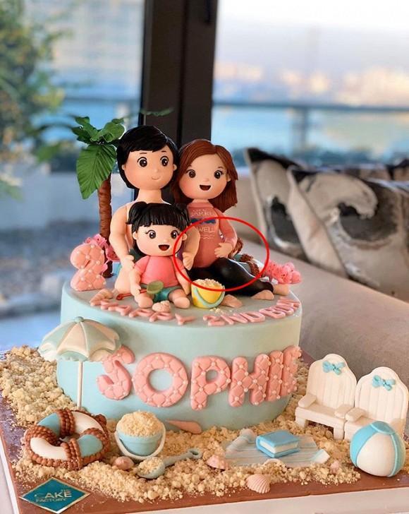 Con gái đầu tròn 2 tuổi, Hoa hậu Việt Nam 2012 Đặng Thu Thảo ẩn ý đang mang bầu lần nữa?-2