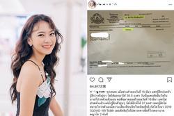 Mỹ nhân Thái Lan xin lỗi sau khi mắc bệnh