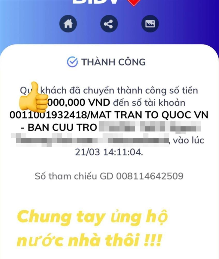 Sau phát ngôn vạ miệng, thiếu gia Phan Thành ủng hộ quỹ chống Covid-19 nhưng che số để tránh đàm tiếu-1