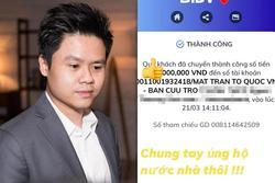 Sau phát ngôn vạ miệng, thiếu gia Phan Thành ủng hộ quỹ chống Covid-19 nhưng che số để tránh đàm tiếu
