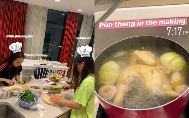 Hot girl, MC nấu ăn tại nhà, xem phim trong mùa dịch-1
