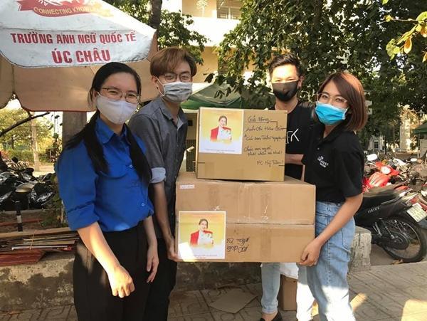 Không gõ trống khua chiêng, FC Mỹ Tâm âm thầm gửi bánh tặng đội hậu cần hỗ trợ cách ly mùa dịch Covid-19-3