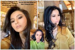 H'Hen Niê trổ tài make-up cho em gái đẹp chẳng thua gì diễn viên điện ảnh