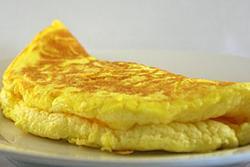 Cách làm món trứng rán phồng chỉ với 2 quả