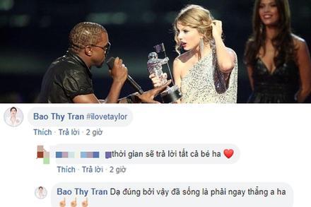 Taylor Swift được minh oan, ở Vbiz có một 'fan bự' lập tức vui mừng như được ăn Tết