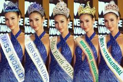 Bản tin Hoa hậu Hoàn vũ 22/3: Hoàng Thùy liệu có hợp với chiếc vương miện nào trong Big6?