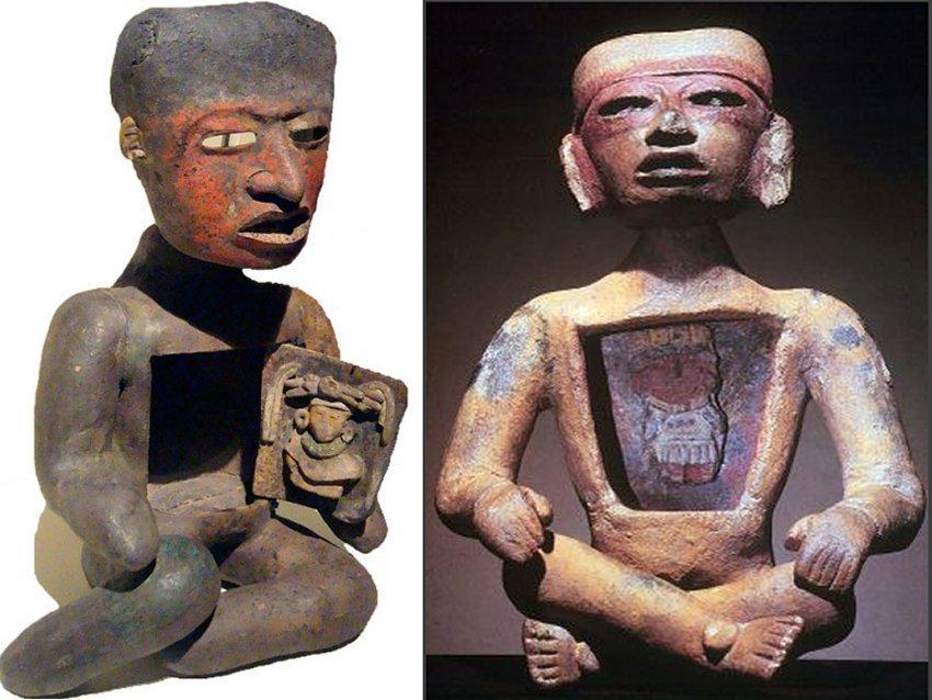Kỳ bí những bức tượng người rỗng bụng tại thành phố của các vị thần-1