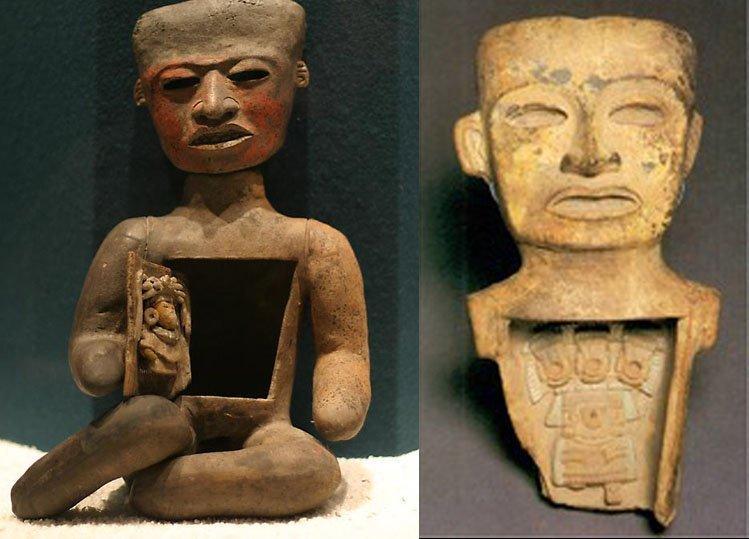 Kỳ bí những bức tượng người rỗng bụng tại thành phố của các vị thần-3
