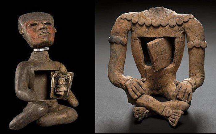 Kỳ bí những bức tượng người rỗng bụng tại thành phố của các vị thần-4