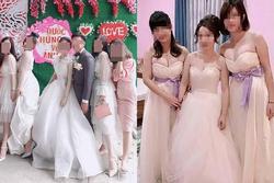 Hội bạn thân lên đồ đẹp lồng lộn đi ăn cưới, quan khách xây xẩm mặt mày vì không biết ai là cô dâu