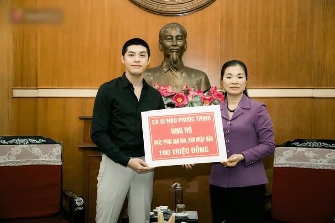 Nói ít làm nhiều, Noo Phước Thịnh âm thầm ủng hộ 300 triệu chống dịch Covid-19 và hạn mặn-2