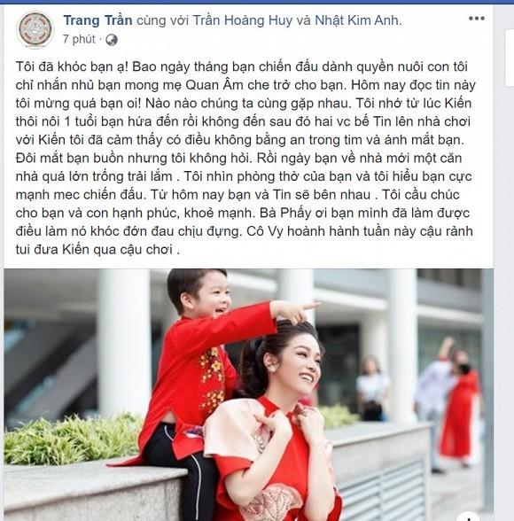 Trang Trần bật khóc khi Nhật Kim Anh giành được quyền nuôi con-2