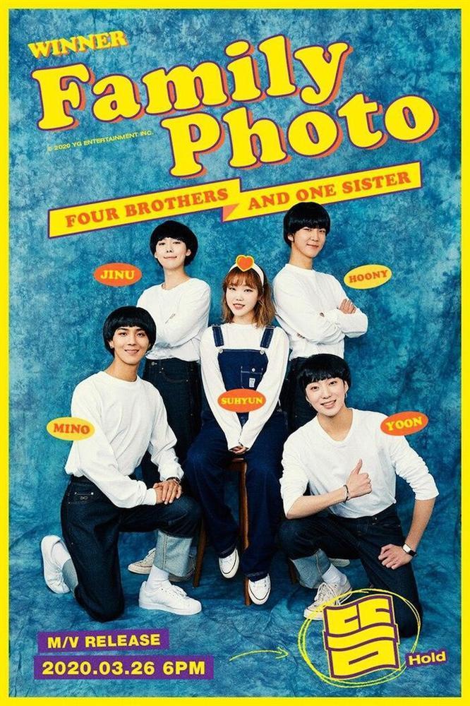 WINNER chính thức tung teaser đầy đủ gia đình với 'em gái' Suhyun-2