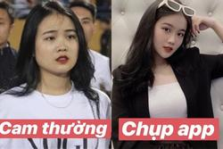 Bạn gái Đoàn Văn Hậu lộ nhan sắc khác xa ngàn cây số giữa ảnh tự đăng và được tag