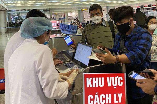 VZN News: Nóng: 2 người ở TP.HCM trở về từ Mỹ dương tính với Covid-19-1