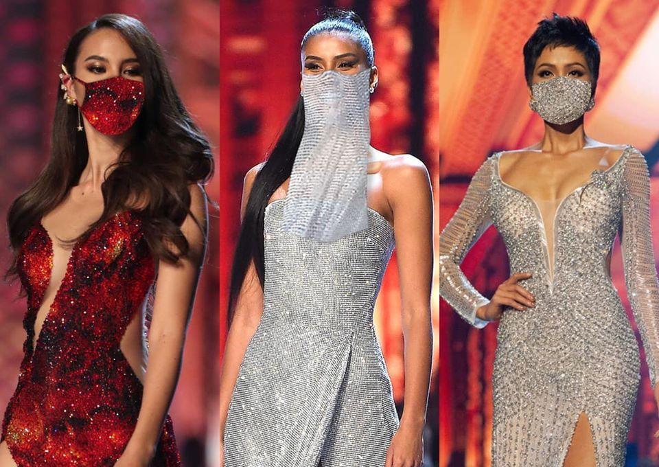 Bản tin Hoa hậu Hoàn vũ 24/3: Catriona - Tamaryn - HHen Niê gây sốt với khẩu trang fashion có 1-0-2-1