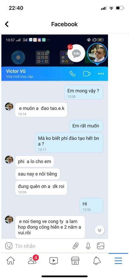 Bị kẻ xấu giả mạo tài khoản để cua gái, Victor Vũ có cách xử lý cực hài-3