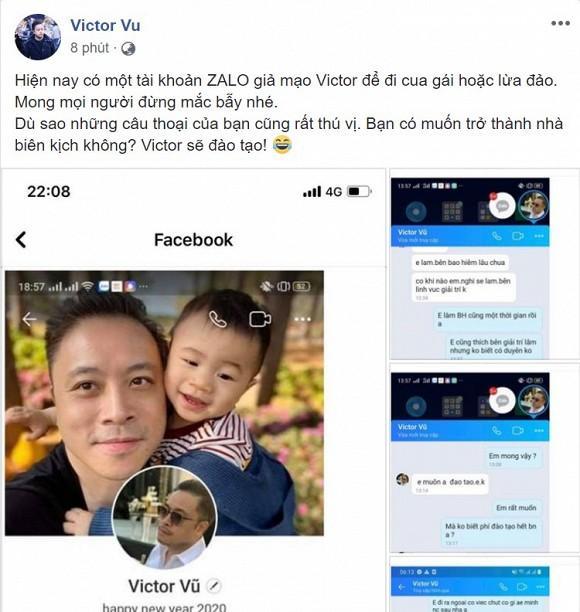 Bị kẻ xấu giả mạo tài khoản để cua gái, Victor Vũ có cách xử lý cực hài-4