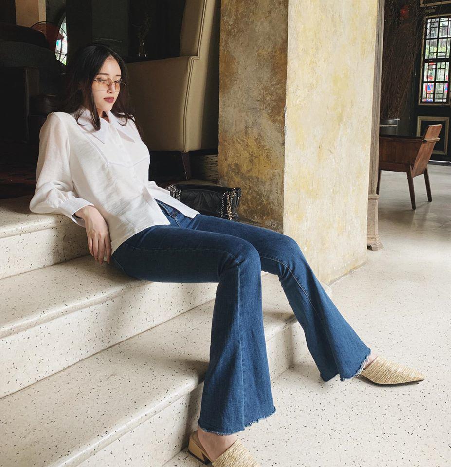 Nhan sắc kiêu sa, em gái Mai Phương Thuý chỉ mặc tối giản suốt 365 ngày vẫn đẹp và sang-7