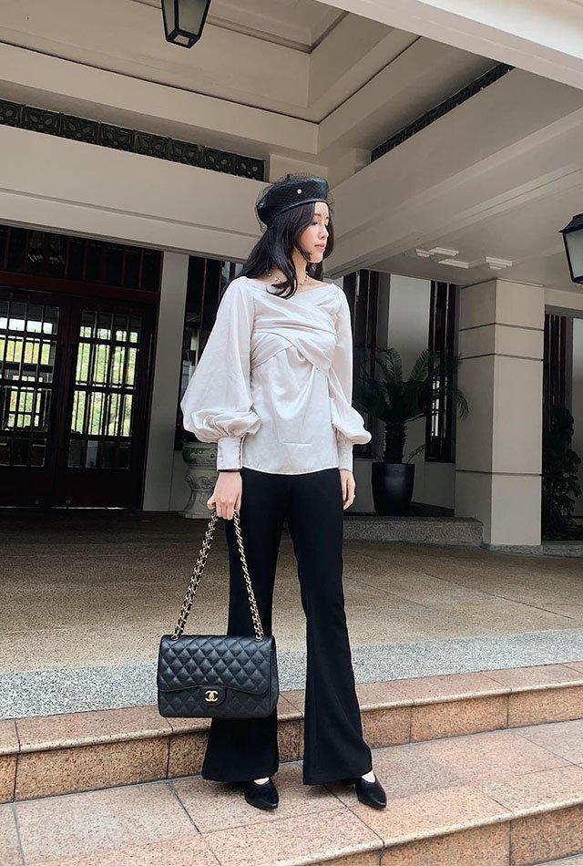 Nhan sắc kiêu sa, em gái Mai Phương Thuý chỉ mặc tối giản suốt 365 ngày vẫn đẹp và sang-9