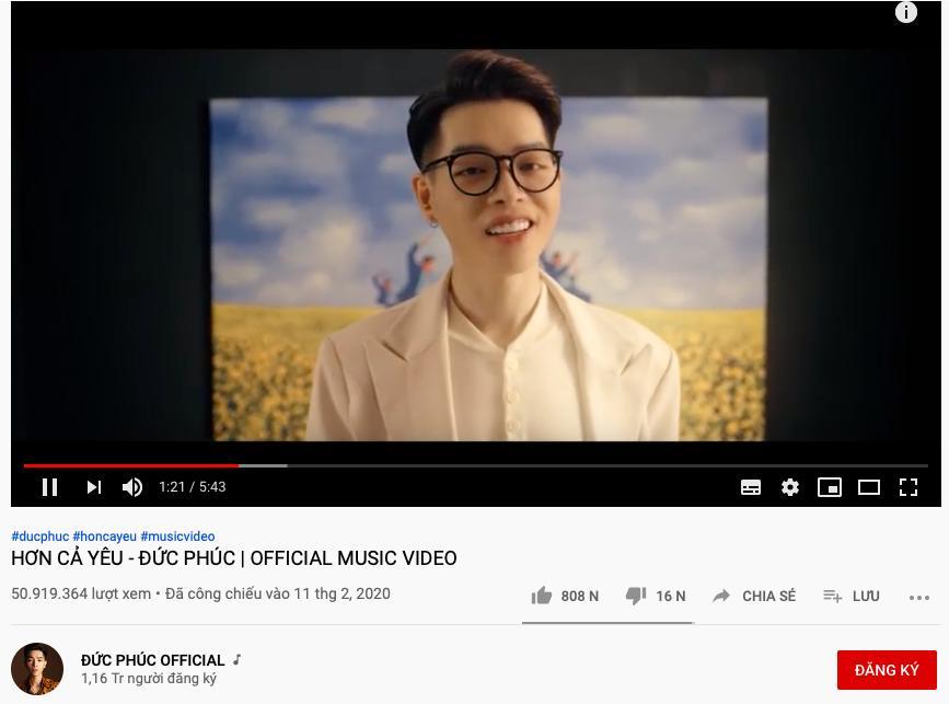 Số nhọ như Đức Phúc, hit Hơn cả yêu đạt hơn 50 triệu view trên Youtube nhưng chưa một lần được hát live-1