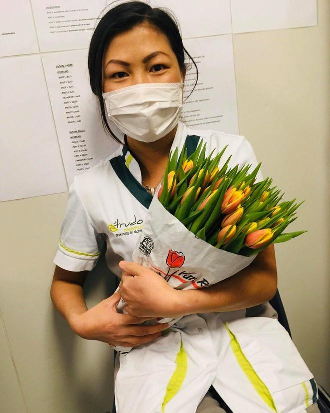 Cô gái H'Mông nói tiếng Anh như gió chia sẻ câu chuyện làm việc ở tuyến đầu chống dịch Covid-19-4