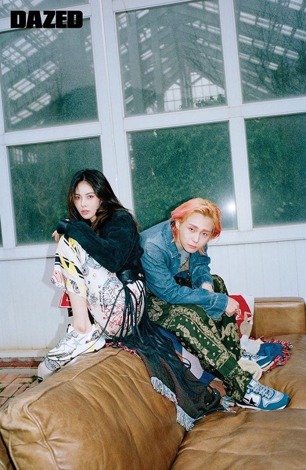 HyunA và bạn trai tạo dáng kỳ quặc trên tạp chí danh tiếng xứ Hàn-5