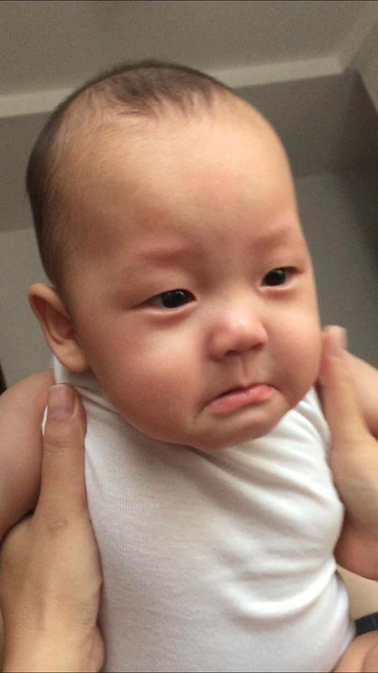 Ly Kute lần đầu công bố ảnh hiếm thuở mới lọt lòng của con trai Khoai Tây-5