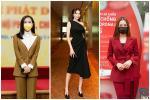 SAO MẶC ĐẸP: Mai Phương Thúy - Chi Pu cùng chọn suit kín đáo đi từ thiện