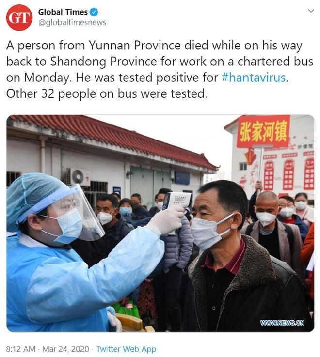 VZN News: Vụ tử vong trên xe khách vì virus hanta ở Trung Quốc gây lo ngại khắp MXH-1