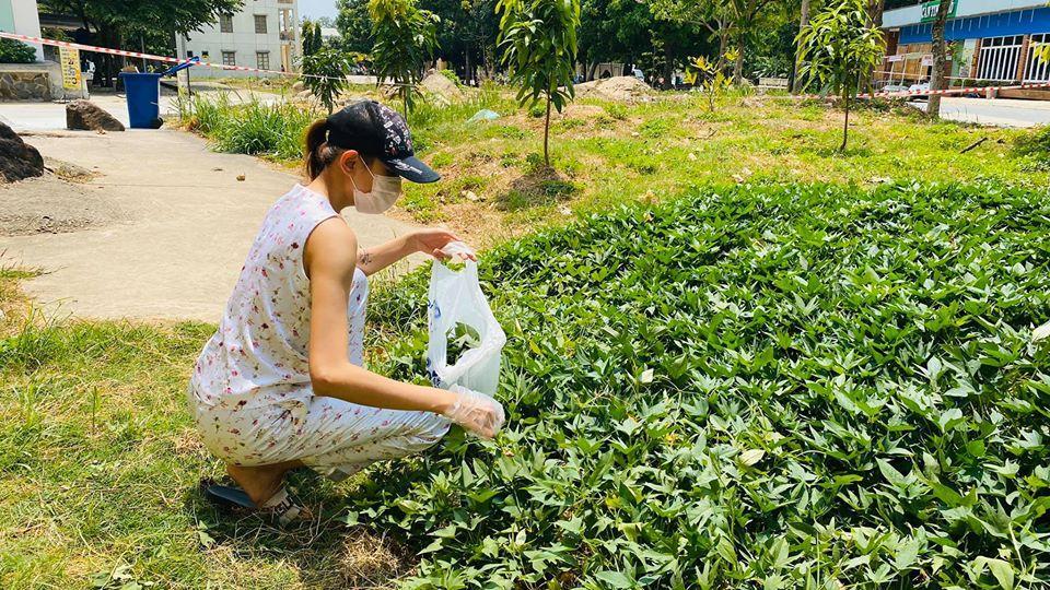 Võ Hoàng Yến và hội chị em cách ly tái chế đồ vô dụng thành vật hữu ích bất ngờ-11
