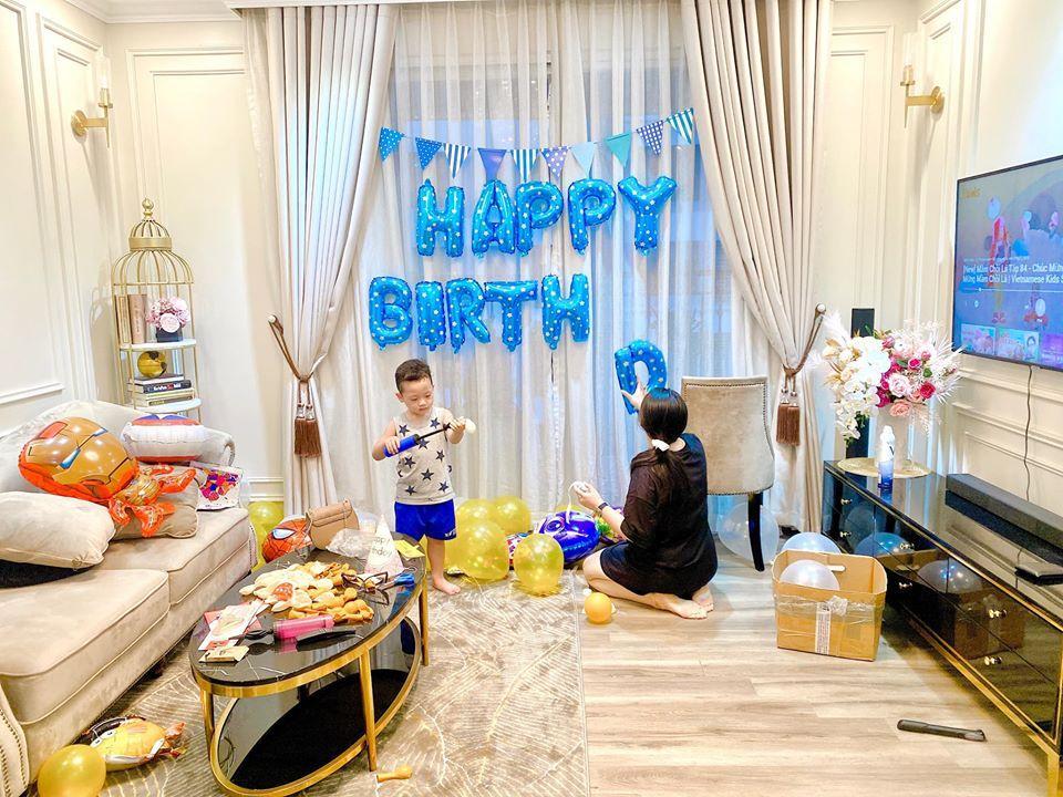Ly Kute chia sẻ lời nhắn xúc động của con trai trong ngày sinh nhật tròn 4 tuổi-3