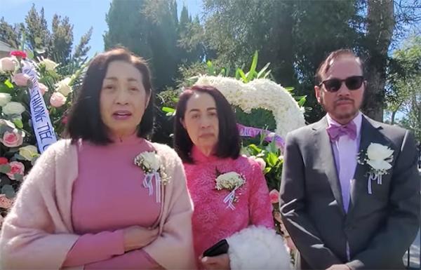 Danh ca Ý Lan đau xót vì đám tang mẹ Thái Thanh vắng lặng-2