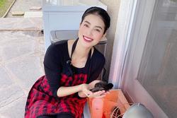 Hoa hậu Phạm Hương trồng rau, nuôi gà trên đất Mỹ