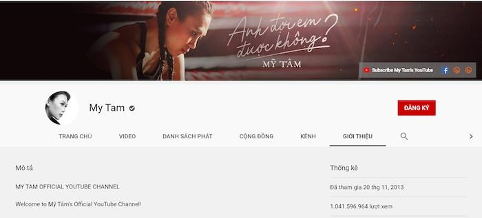 Giấu kín bao lâu, kênh Youtube Mỹ Tâm bỗng công khai follower khủng đến độ Sơn Tùng M-TP cũng ra chuồng gà-2