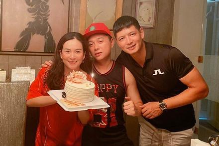 Bà xã Bình Minh được người đàn ông đặc biệt vào bếp nấu ăn chúc mừng sinh nhật