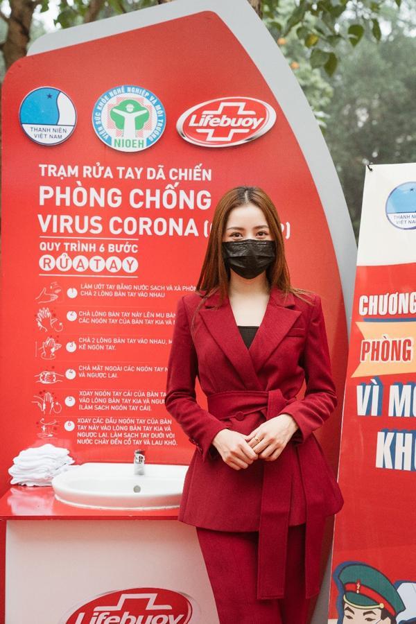 Cùng Chi Pu gây quỹ xây 100 trạm rửa tay Lifebuoy miễn phí-2