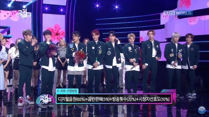 Triệt tiêu ON của BTS, NCT 127 xuất sắc giành cúp chiến thắng đầu tiên cho Kick It trên Music Bank-4