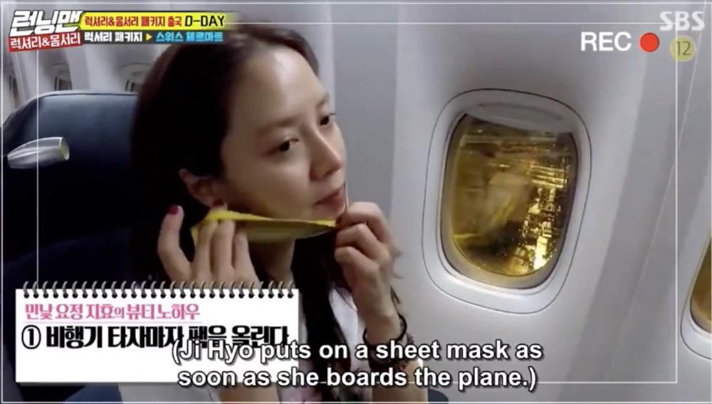 Để mặt mộc vẫn nổi bần bật, mợ ngố Song Ji Hyo khẳng định đẳng cấp đẹp tự nhiên-9