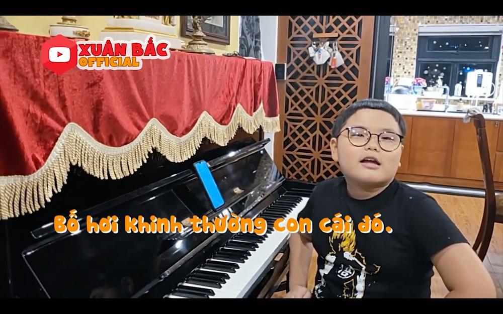 Con trai Xuân Bắc sáng tác thơ, ghép nhạc ca khúc ủng hộ phòng chống dịch Covid-19-1