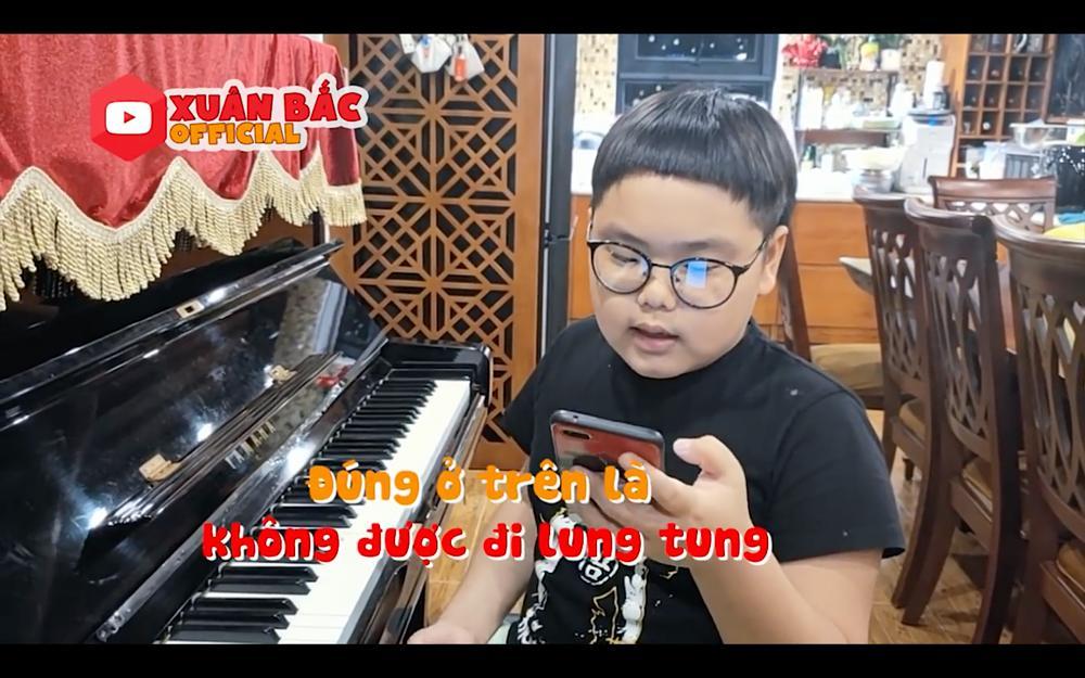 Con trai Xuân Bắc sáng tác thơ, ghép nhạc ca khúc ủng hộ phòng chống dịch Covid-19-3