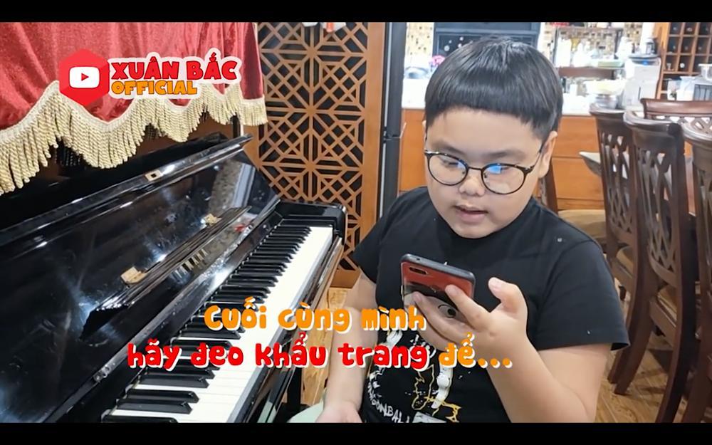 Con trai Xuân Bắc sáng tác thơ, ghép nhạc ca khúc ủng hộ phòng chống dịch Covid-19-4