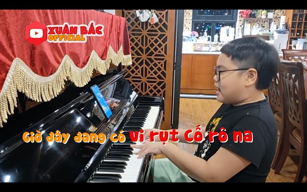 Con trai Xuân Bắc sáng tác thơ, ghép nhạc ca khúc ủng hộ phòng chống dịch Covid-19-5