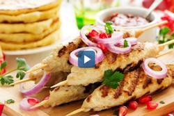 Cách làm món thịt xiên nướng nổi tiếng vùng Trung Đông