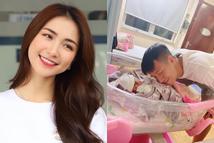 Hòa Minzy buột miệng khiến dân mạng nghi ngờ con đầu lòng của nữ ca sĩ là một bé trai