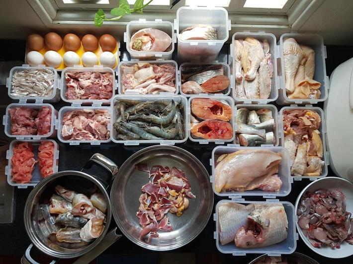 Cô giáo 9x có mẹo trữ đông thực phẩm 1 tuần đảm bảo luôn tươi rói sạch gọn, chị em rần rần học theo-2