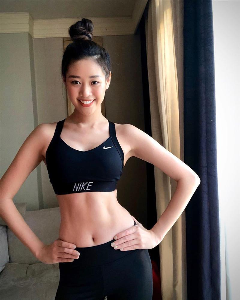 Bản tin Hoa hậu Hoàn vũ 28/3: Ngỡ ngàng với gương mặt Khánh Vân khi thiếu son phấn-1