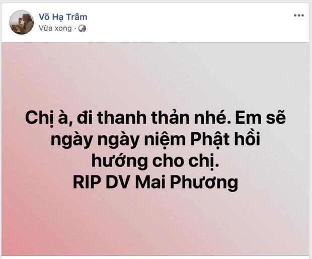 Dàn sao Việt nghẹn thở như chết lặng khi nghe tin diễn viên Mai Phương qua đời-9