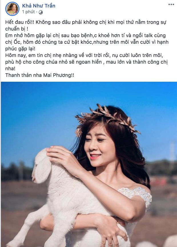 Dàn sao Việt nghẹn thở như chết lặng khi nghe tin diễn viên Mai Phương qua đời-7